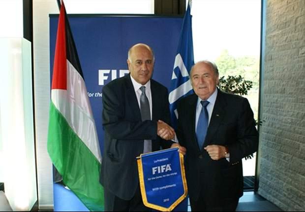 Blatter manda felicitações à Palestina após se tornar Estado soberano