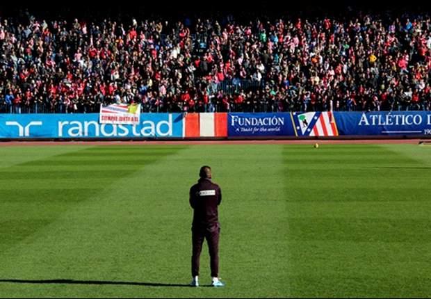 Falcao vuelve a los entrenamientos del Atlético ante una multitud