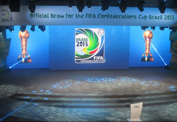 Confederations Cup groups announced