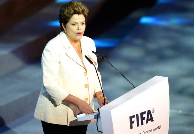 Brazil president defends World Cup costs