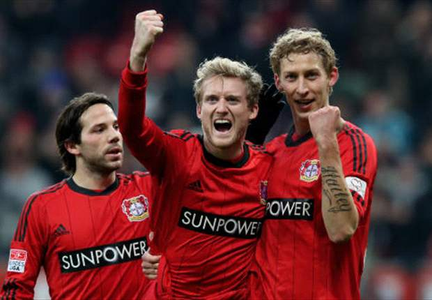 Bundesliga Round 15 Results: Kiessling closes the gap at the top for Leverkusen