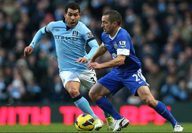 Laporan Pertandingan: Manchester City 1-1 Everton