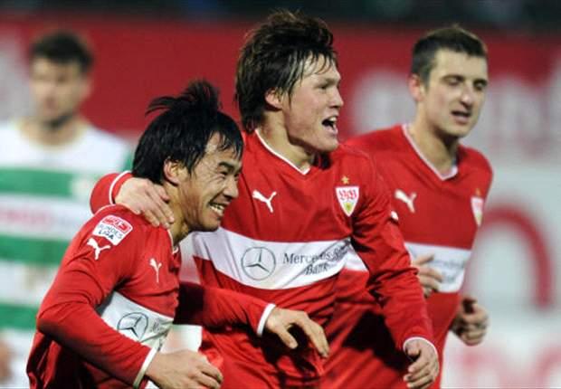 Stuttgart siegt sehr glücklich mit 1:0 gegen Fürth
