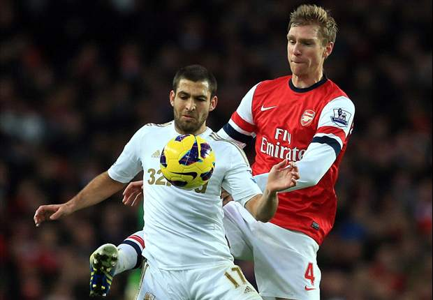 Laporan Pertandingan: Arsenal 0-2 Swansea City