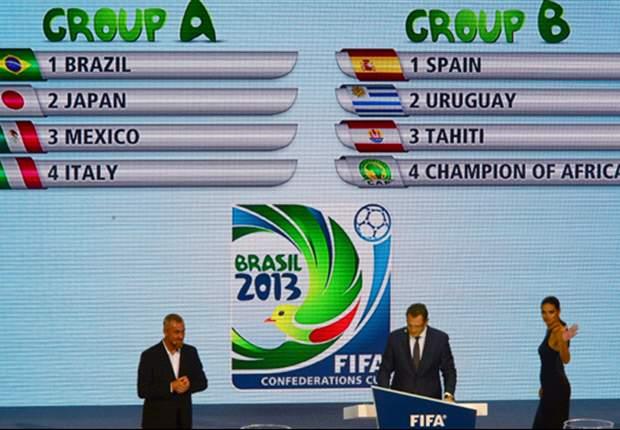 Fifa divulga locais de treinos da Copa das Confederações