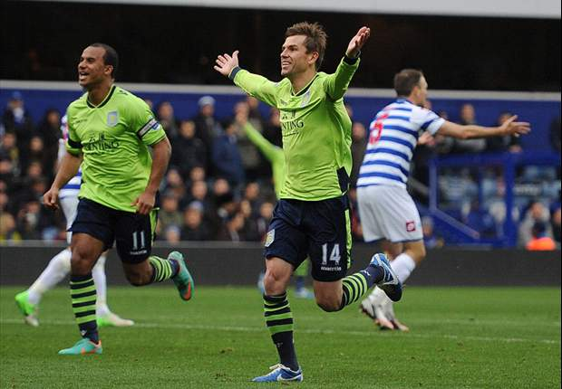 Aston Villa boss Lambert hails QPR draw as 'massive point'
