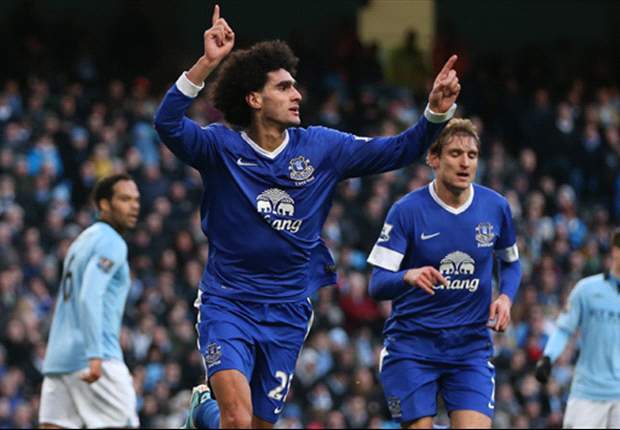 Fellaini hails Everton team-mates' contribution after Player of the Month award