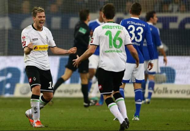 Schalke pakt op valreep punt tegen BMG