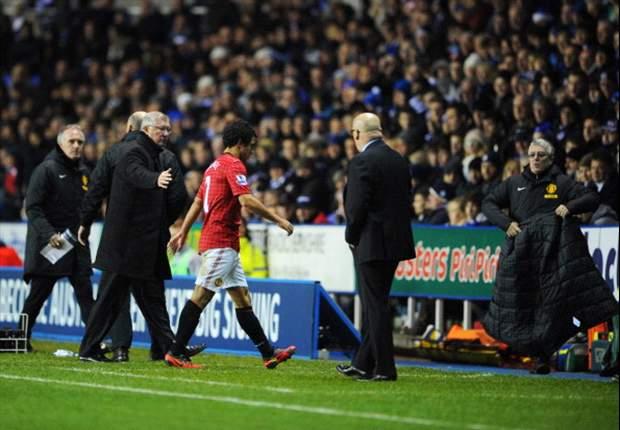 Sir Alex, descontento por la frágil defensa del Manchester United