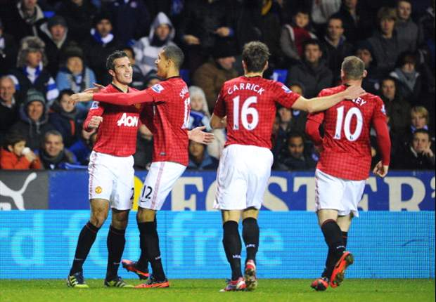 Laporan Pertandingan: Reading 3-4 Manchester United
