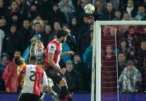 REVIEW - Eredivisie Belanda: Lagi, Graziano Pelle Menangkan Feyenoord Rotterdam