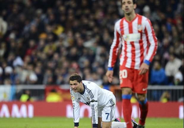 Cristiano Ronaldo feliz pela vitória frente ao Atlético de Madrid