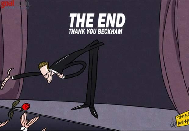 Final hollywoodense para la aventura de Beckham en el soccer