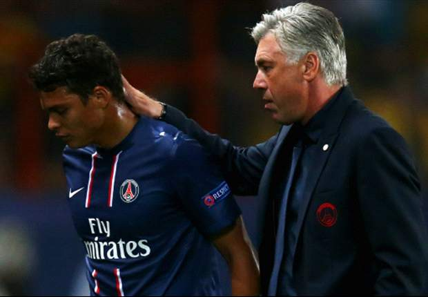 Thiago Silva: I'd be sad to see Ancelotti go