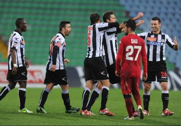 REVIEW Serie A Italia: Udinese Hancurkan Cagliari