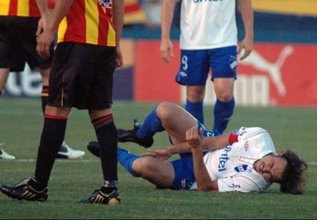 Álvaro Recoba se perderá lo que resta del Apertura
