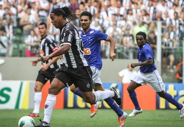 Brasileiro Round 38: Atletico Mineiro steal second position despite Ronaldinho penalty miss