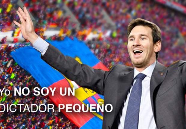 """Lionel Messi no quiere que lo llamen """"Dictador"""""""