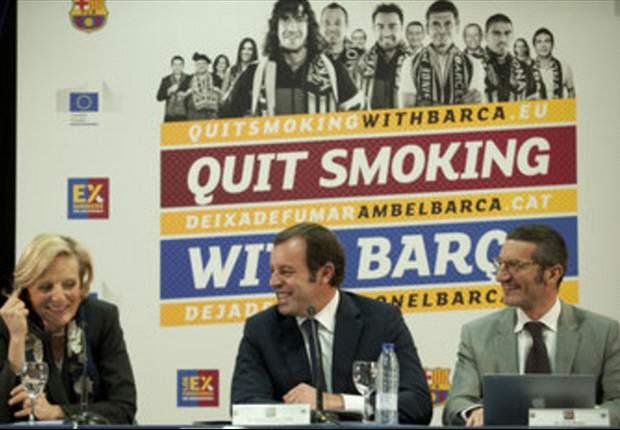 El Barcelona lanza una campaña de ayuda para dejar de fumar