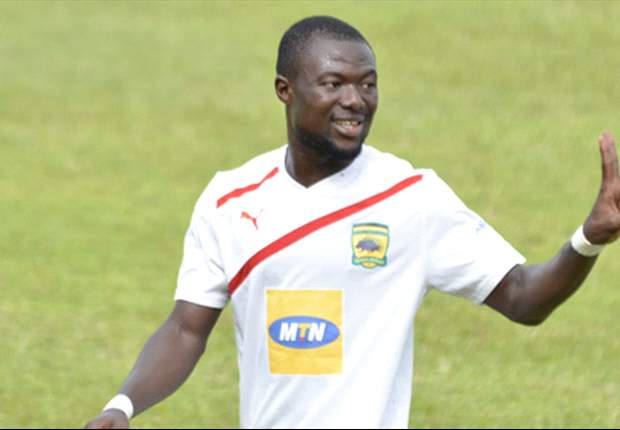 I can play as a striker for Asante Kotoko - Defender Gideon Baah