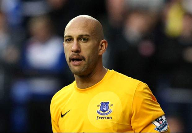 Everton still in top-four race, insists Howard