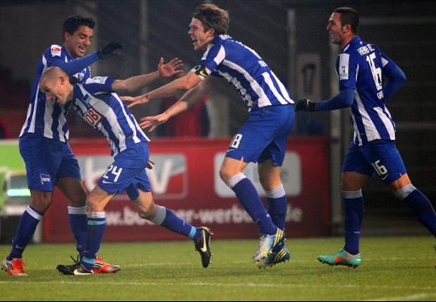 Hertha BSC überzeugt in der letzten Viertelstunde