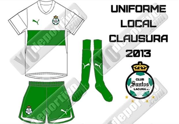 Fútbol a la Moda: Se filtran nuevos uniformes de Santos Laguna en la red