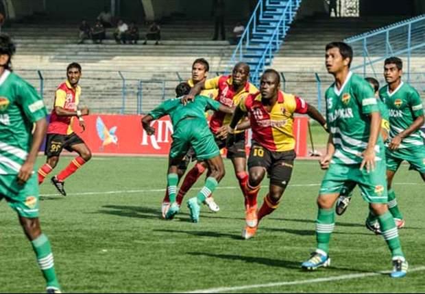 East Bengal's Chidi soaks up Derby atmosphere