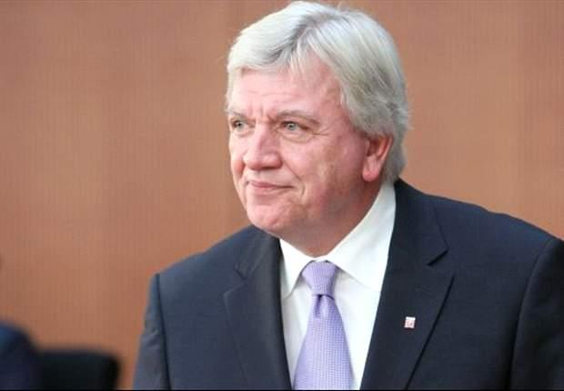 Hessischer Ministerpräsident Bouffier fordert Sicherheits-Euro