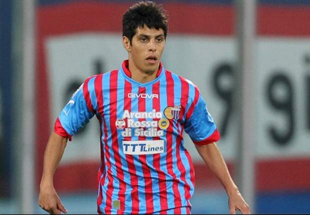 Napoli target Catania forward Barrientos