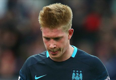 De Bruyne set for lengthy lay-off