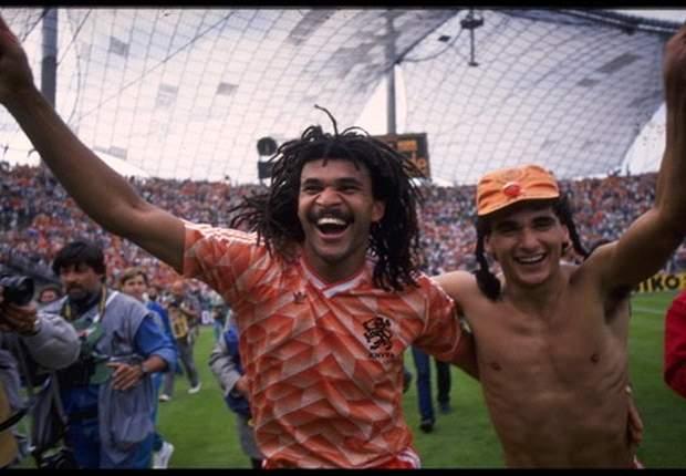 Gullit was blij dat Van Basten uitblonk in 1988