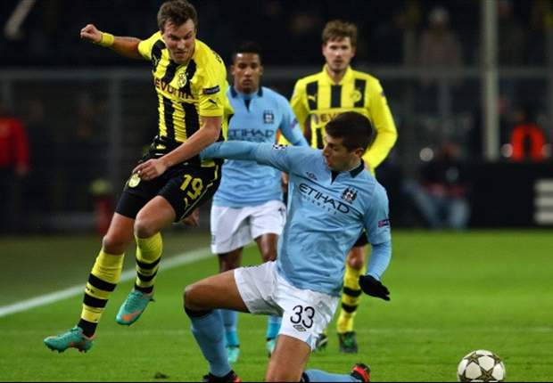 Manchester City chancenlos in Dortmund: Schieber sichert den Sieg