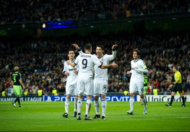 Real Madrid gewinnt ohne Mühe mit 4:1 - Ajax wacht zu spät auf
