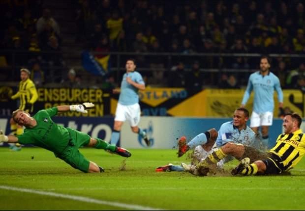 Borussia Dortmund 1-0 Manchester City: Schieber completes Mancini's Champions League humiliation