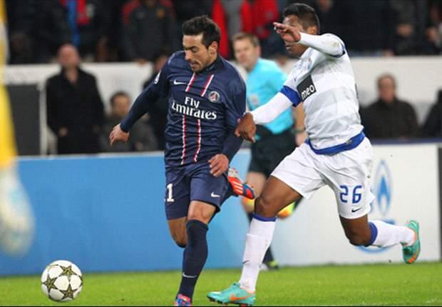 PSG 2-1 Oporto: Lavezzi deja a los franceses primeros de grupo
