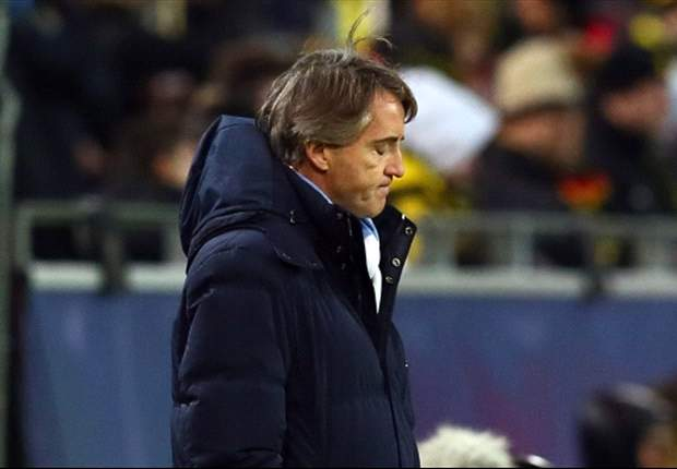 We wanted Europa League qualification, insists Mancini after Borussia Dortmund defeat