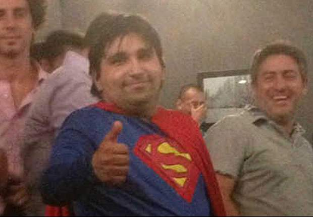Superman apareció para salvar a River