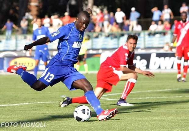 Chibsah scores in Sassuolo's 2-2 away draw against Laciano
