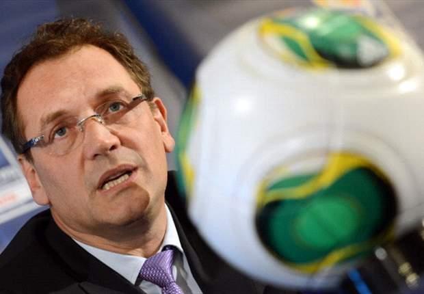 Valcke está preocupado por el estado de los estadios en Brasil