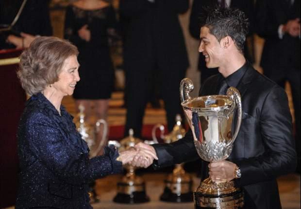Cristiano Ronaldo: Dedico el Premio Nacional del Deporte a todos los aficionados del Real Madrid