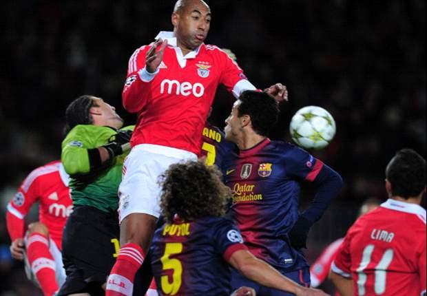 Benfica uitgeschakeld na remise in Camp Nou