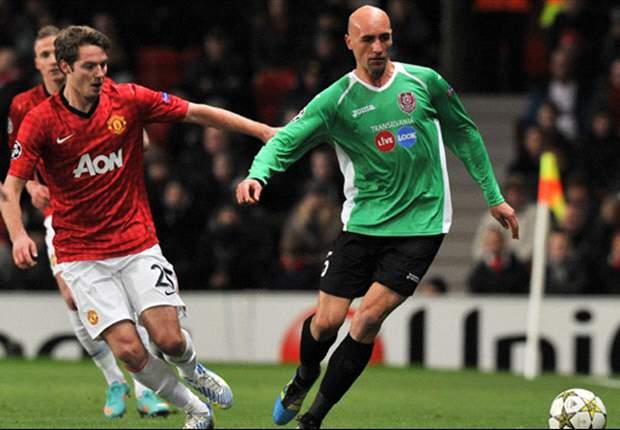 Bungkam Manchester United, CFR Cluj Tetap Gagal Melaju