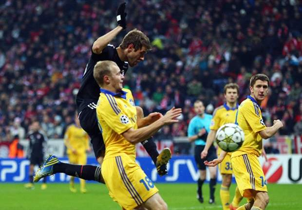 Bayern Munich 4-1 BATE Borisov: Brilliant Bavarians seal top spot
