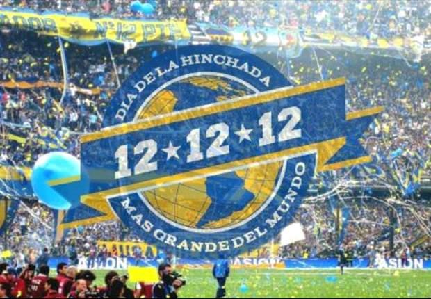 """Los hinchas de Boca celebran el """"Día del hincha Xeneize"""""""