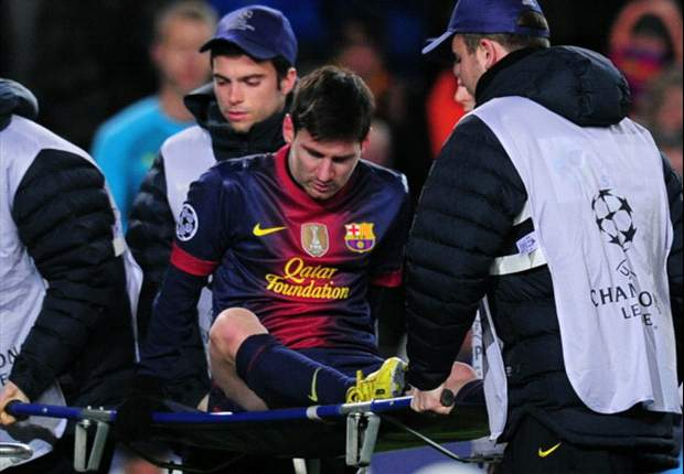 Messi injury just a minor knock, says Vilanova