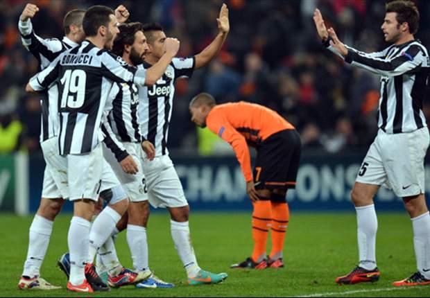 Juventus schnappt sich in Donezk den Gruppensieg