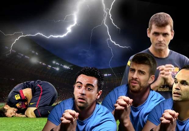 Lionel Messi se lesiona y el Barcelona tiembla