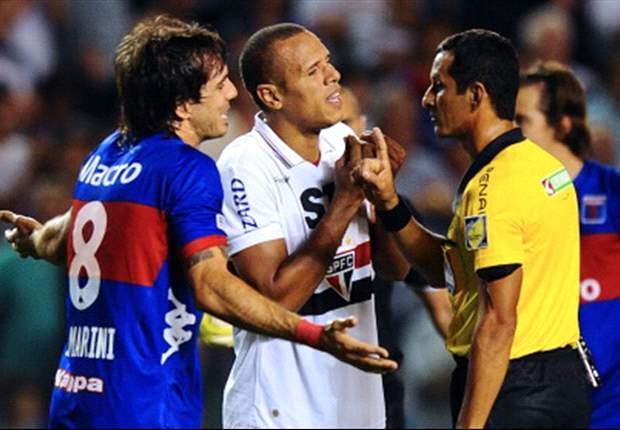 Donatti diz que pediria desculpas a Luis Fabiano