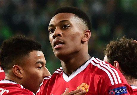 Who convinced Martial to join Man Utd?